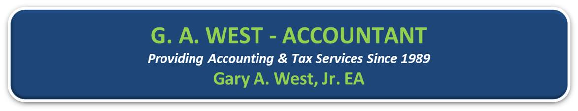 G. A. WEST - ACCOUNTANT